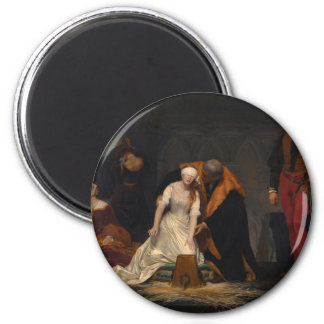 The Execution of Lady Jane Grey Magnet