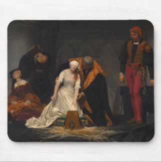 The Execution of Lady Jane Grey Mouse Pad
