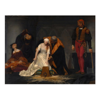 The Execution of Lady Jane Grey Postcard