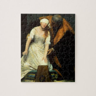 the execution of lady jane grey puzzle