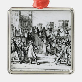 The Execution of the Duke of Monmouth Metal Ornament