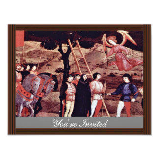 The Execution Of The Repentant Woman A Prayer Spea 4.25x5.5 Paper Invitation Card