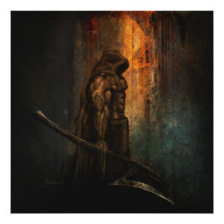 The executioner - Fantasy art print