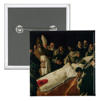 The Exhibition of the Body of St. Bonaventure Button
