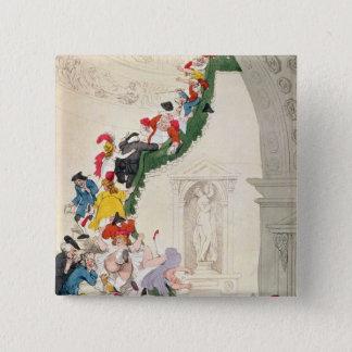 The Exhibition Stare Case, c.1800 Pinback Button