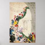 The Exhibition Stare Case, c.1800 Poster