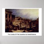 The Exodus Of The Israelites By David Roberts Print