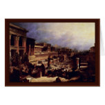 The Exodus Of The Israelites From Egypt Greeting Card