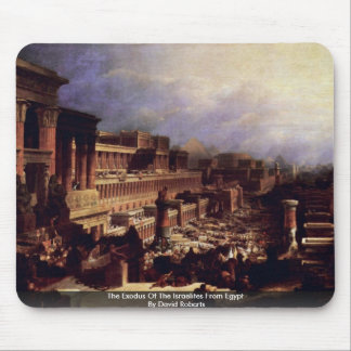 The Exodus Of The Israelites From Egypt Mousepad