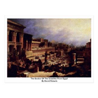 The Exodus Of The Israelites From Egypt Postcard