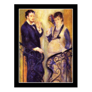 The Expectant Couple Postcard