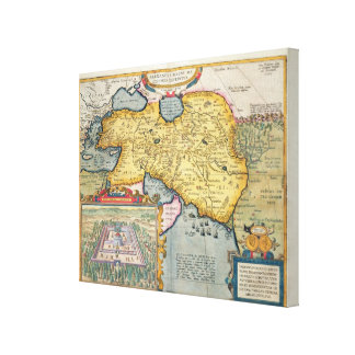 The Expedition of Alexander the Great Canvas Print