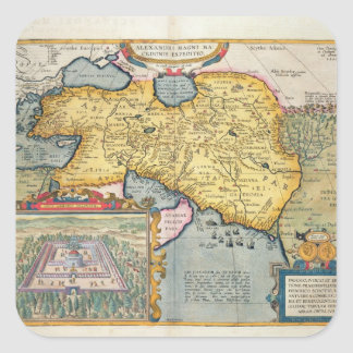 The Expedition of Alexander the Great Square Sticker