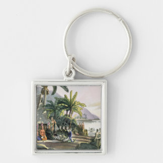 The Expedition Party and King Kamehameha I Key Chain