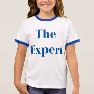 'The Expert' - Trump for Girls Ringer T-Shirt