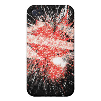 The Exploding heart Cover For iPhone 4