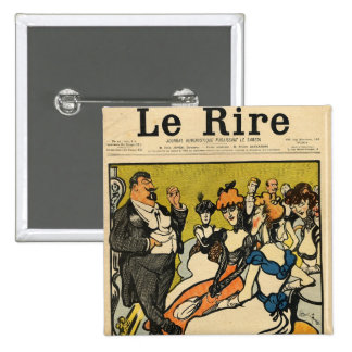 The Explorersfrom the front cover of Le Rire Button
