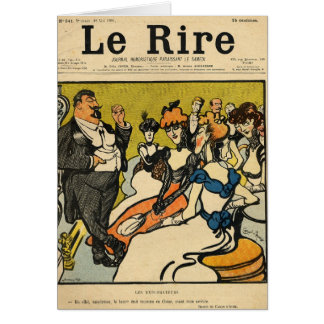 The Explorersfrom the front cover of Le Rire Card