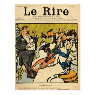 The Explorersfrom the front cover of Le Rire Postcard