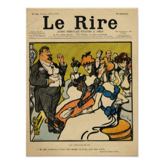 The Explorersfrom the front cover of Le Rire Poster