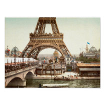 The Exposition Universelle - 1900 - Eiffel Tower