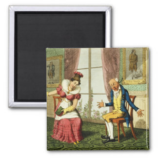 The Expostulation pub by G Humphrey 1821 colo Magnet