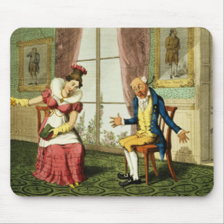 The Expostulation, pub. by G. Humphrey, 1821 (colo Mouse Pad