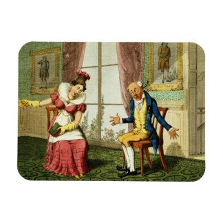 The Expostulation pub by G Humphrey 1821 colo Vinyl Magnet