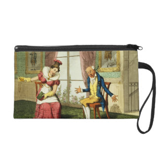 The Expostulation, pub. by G. Humphrey, 1821 (colo Wristlet Purse