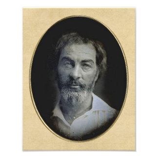 The Expression in Your Eyes: Walt Whitman, Age 35 Photo Print