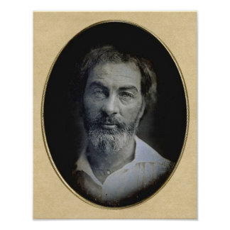The Expression in Your Eyes: Walt Whitman, Age 35 Poster