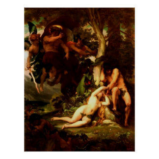 The Expulsion of Adam and Eve Poster