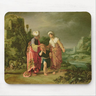 The Expulsion of Hagar, 1612 Mouse Pad