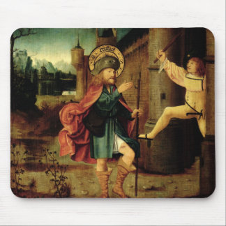 The Expulsion of Saint Roch from Rome Mouse Pad