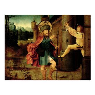 The Expulsion of Saint Roch from Rome Postcard