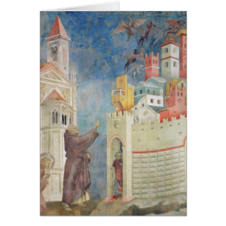 The Expulsion of the Devils from Arezzo, 1297-99 Card