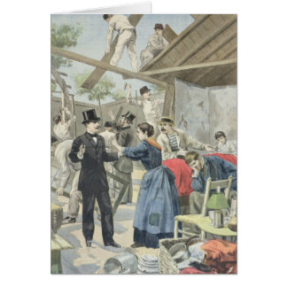 The Expulsion of the Poor from the Slums Card