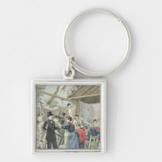 The Expulsion of the Poor from the Slums Key Chain