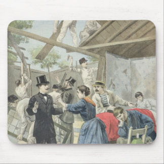 The Expulsion of the Poor from the Slums Mouse Pad