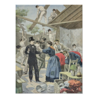 The Expulsion of the Poor from the Slums Posters