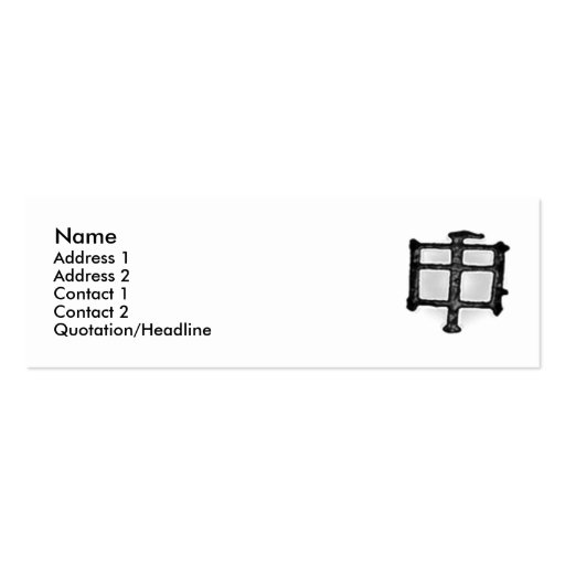 The Extension Monkey Profile Card Business Card Templates
