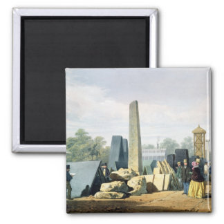 The Exterior, from 'Dickinson's Comprehensive Pict 2 Inch Square Magnet