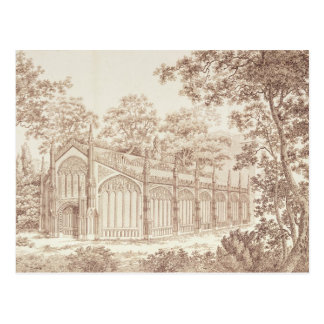 The Exterior of Prince of Wales's Conservatory Postcard
