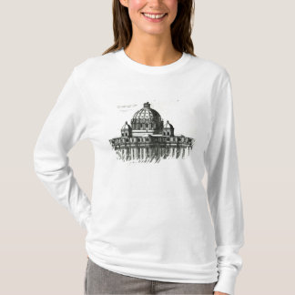 The Exterior of St. Peter's Basilica in Rome T-Shirt