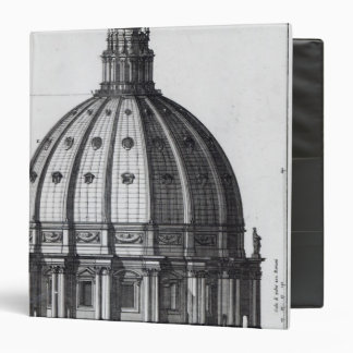 The exterior of the dome of St. Peter's, Rome Binder