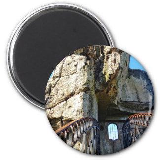 The Externsteine II, Teutoburg Forest 2 Inch Round Magnet
