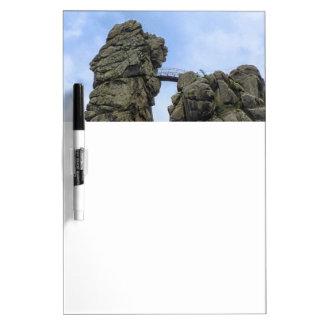 The Externsteine, Teutoburg Forest Dry Erase Board