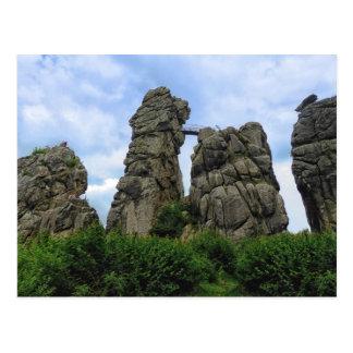 The Externsteine, Teutoburg Forest Postcard