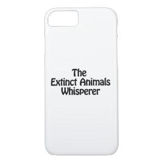 the extinct animals whisperer iPhone 8/7 case