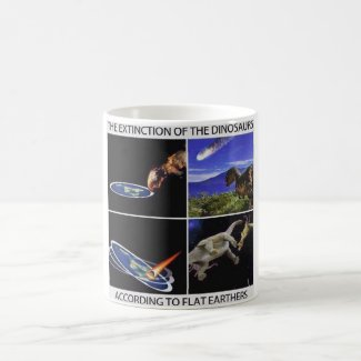 The Extinction of the Dinosaurs Mug
